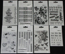 Kaisercraft Clear Stamps 'COLLECTIONS' 2012 (You choose design) *NEW* KAISER