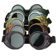 Vintage Victorian Cosplay Welding Punk Gothic Steampunk Glasses Goggles