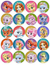 DISNEY PRINCESS PALACE PETS EDIBLE WAFER PAPER TOPPERS CUPCAKES CAKE POPS