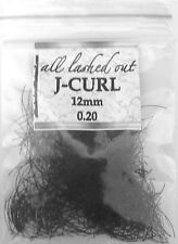 Synthetic Loose Eyelash Extensions J-Curl 0.25