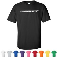Stark Industries Iron Man From the Movies Cheap Graphic T-Shirts