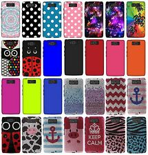 For Motorola Droid Ultra XT1080 Protector Rubberized Hard Cover Phone Case