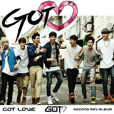 GOT7 2nd Mini Album GOT Love Vol.2 : CD+Photo+Alphabet Chip+Poster+MiniPhoto,New