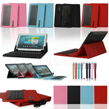 "Universal Removable Bluetooth Keyboard Case Cover For 9.7""- 10.1"" inch Tablet PC"
