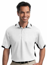 Port Authority Men's Tall Flat Dry Zone Colorblock Ottoman Polo Shirt. TLK524