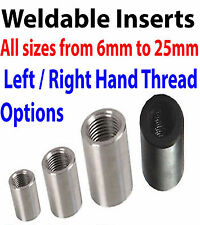 Threaded Insert Tube Adaptor Rose Joint  Adapter Pipe connectors thread Joiner