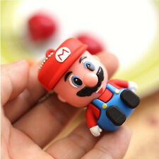 New Cartoon Cute Mario model USB 2.0 Flash Memory Pen Drive Stick 4-32GB YH004