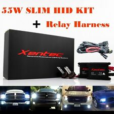 55W Xenon Light HID KIT Digital Slim 5k 6k 8k 10k 12k 30k W/ Relay 9006 H11 H4