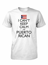 Men's I Can't Keep Calm I'm Puerto Rican Funny T-Shirt Puerto Rico Pride Tee