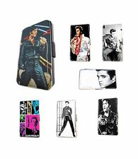 Elvis Presley design leather card wallet phone case for Samsung Galaxy S4 mini