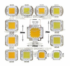 High Power LED bead chip 10W/20W/30W/50W/70W/100W Light Bulb Cold/Warm White