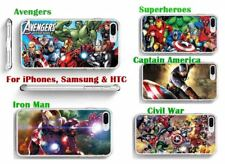 Marvel Super hero hard back phone case for Iphone 4, 5, 5c, 6