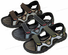 Mens Sandals Velcro Strap Open Toe Casual Trail Sport Beach Walking Hiking Shoes