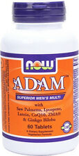 NOW Foods ADAM Superior Men's Multi Tablets. Free Domestic Shipping.