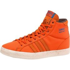 adidas Originals Mens Basket Profi Hi-Tops Orange/Orange/White Brand New