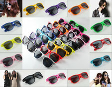 New Candy Colors Classic Women Men Retro Vintage Style Shades Glasses Sunglasses