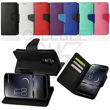 Magnetic Closure Flip Wallet Stand Pouch Fitted Case for LG G Flex
