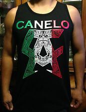 Mayan Mexican Canelo Unisex Adult Tank Top