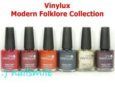 CND VINYLUX Nail Lacquer Weekly Polish MODERN FOLKLORE Collection*Pick Any Color