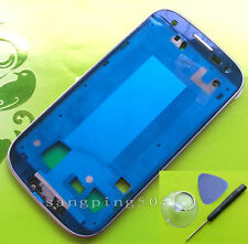 For Samsung Galaxy S3 S III i9300 Housing Frame Front Bezel Cover+Tools