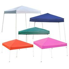 8' 10' EZ POP UP Wedding Party Tent Folding Gazebo Beach Camping Canopy