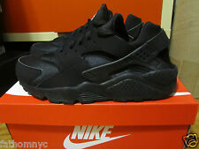 2014 Nike Air Huarache Triple Black White Anthracite Grey QS 318429-003 8-13