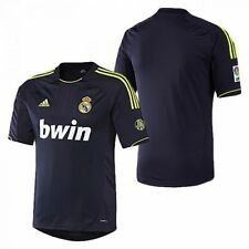 Real Madrid adidas away adults blue climacool football shirt 2012-13 sizes S-XXL