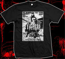 Ilsa the Tigress of Siberia - Dyanne Thorne -Grindhouse- hand screened t-shirt