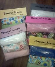 Bassinet sheets - sets of three