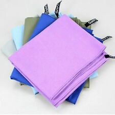 soft Microfiber Towel Fast Drying Housekeeping Travel Gym Camping Sports bath