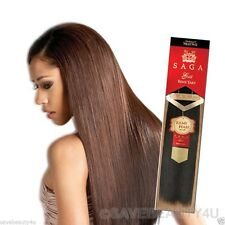 "10"" Saga Gold Remy Yaky Premium Quality 100% Human Hair Weaving Extensions"
