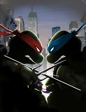 TMNT Teenage Mutant Ninja Turtles Giant Poster - A0 A1 A2 A3 A4 Sizes