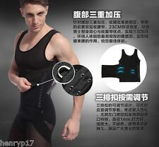 SLIMMING COMPRESSION CORSET GIRDLE FOR MEN UK FAT BELLY TUMMY TUCKER TRIMMER NEW