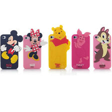 New Cartoon Soft Silicone Phone Cover Case For apple iphone 4 4S