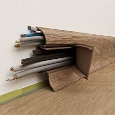 Skirting Board PVC in choice of colours to match your laminate floor 65mmx2.5m