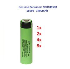Genuine Panasonic Battery NCR18650B 3400mAh Super 3.7V Rechargeable For All Mods
