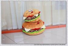 Creative Plush toy Hamburger /Cheese Burger/Super Big Cushion Pillow Doll 1pc