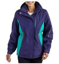Faded Glory Womens 4 in 1 System Winter Spring Jacket, Choose S or M & Color