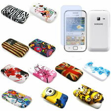 Pictorial Design TPU Phone Cover w/LCD SP for Samsung Galaxy Ace Duos S6802