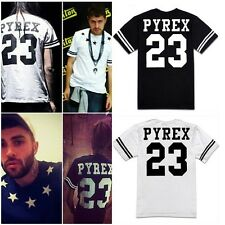 Fashion Mens Women's Cool Hip-Hop 23 Star Print Tee T-Shirts Street Tops