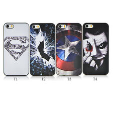 For Apple for iphone 5 5S 5G Super Hero Pattern Hard  Phone Back Cover Case