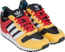 Mens Adidas ZX 700 zx700 Classic Originals Sneakers New, Yellow Red Black D65280