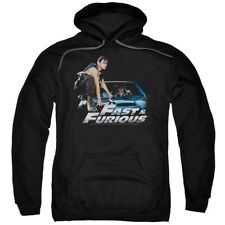 The Fast And The Furious Action Drive Movie Car Ride Adult Pull-Over Hoodie