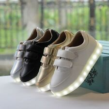 2014 New Fashion Simulation Led Leather Shoes Sports Shoes Sneakers USB charger