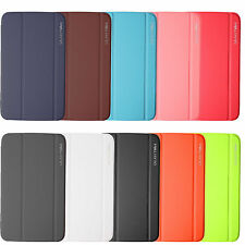 BOOK Leather Slim Thin Case Cover For Samsung Galaxy Tab 3 10.1 P5200 P5210