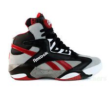 "Reebok Shaq Attaq ""Brick City"" (Tin Grey/Black/Red/White) Men's Shoes M40173"