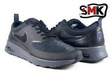 New Womens Nike Air Max Thea Premium [size 6-10] BLACK/ANTHRACITE 616723-004
