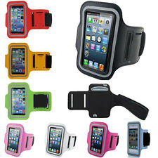Sports Running Jogging Gym Armband For iPhone 6, 5S, 5, 4S, 4, Galaxy S5, S4, S3