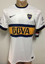NEW!!! 2014/15 AUTHENTIC BOCA JUNIORS AWAY SOCCER JERSEY PLAYERS VERSION