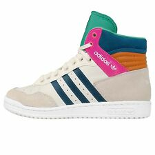 Adidas Originals Pro Conference HI W White Bluw 2014 Womens Casual Shoes